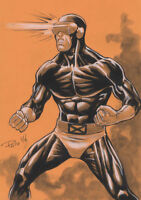 Cyclops X-Men Original Art Sketch