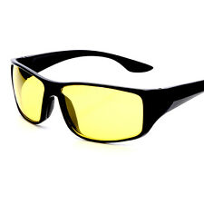 New sunglasses for driving at night anti glare for safe driving with yellow lens