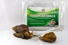 Organic Food for Pet Snails Pet Garden Snails Feeding, Giant Snails (GALS) Feed