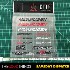 MUGEN Clear Sticker Decal Suit Honda Type R Civic Accord Euro CRV HRV