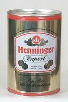 HB Henninger Export Germany Gallon Beer Can Keg