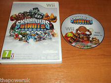 SKYLANDERS GIANTS - NINTENDO WII PAL GAME - FAST POST   MISSING MANUAL