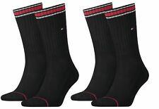 4 Paar Tommy Hilfiger Socken/Strümpfe Sport 43-46 black