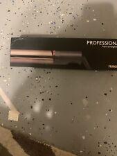 "FURIDEN Professional Flat Iron Hair Straightener 450 Degrees 1"" Gold Woman"