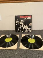 33 Rpm Double Lp Grand Funk Railroad Live Album 1970