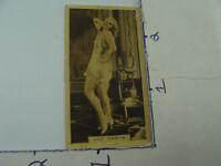 Original early GODFREY PHILLIPS co Cigarette Card -- LILY DAMITA #25