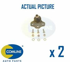 2 x NEW COMLINE FRONT LOWER SUSPENSION BALL JOINT PAIR OE QUALITY CBJ7012