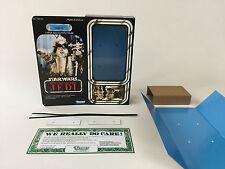 "Custom Vintage Star Wars Rotj Logray Ewok Insertos + Caja de 12"""