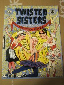 Kitchen Sink Comic Twisted Sisters Comix #3 & 4 Graphic Novel TPB Set of 2 (B)