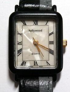 HOLLYWOOD Quartz, Ladies Watch, Made in Hong Kong, Japanese Movements