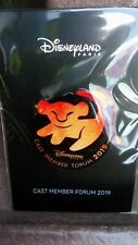 Disneyland Paris - 2019 Cast Member Forum Pin - Le roi lion (Simba)