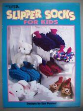 Slipper socks for Kids booties  crochet pattern