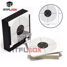 ATFLBOX BB Gun Target Pellet Trap Card Holder & 50 Cards Shooting Target