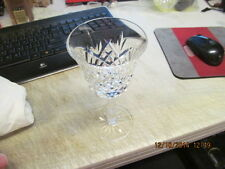 """Waterford Crystal Box of 4 - CLARET 6 3/4"""" Tall Glasses --  GORGEOUS! Avonmore"""