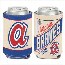 Atlanta Braves Can Cooler 12 oz. Koozie