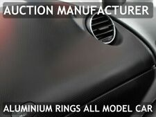 Seat Leon II 1P 2005-2012 Aluminium Polished Chrome Air Vents Rings Surrounds x2