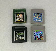 4 Random Gameboy Games WORKS Austin Powers Ren & Stimpy Wrestlemania Volleyball