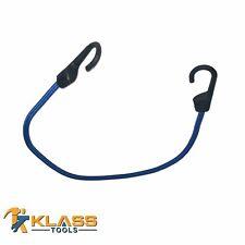 6x ELASTIC 30//45//60cm BUNGEE CORD STRAPS METAL HANGING HOOKS Secure Bike//Car Tie