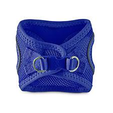 Bond & Co. Reflective Blue Mesh Dog Harness, XX-Small/X-Small