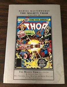 MARVEL MASTERWORKS: THOR VOL. 18 by Roy Thomas & John Buscema