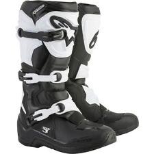 Alpinestarts Tech 3 Motocross Riding Boots Black White Adult Size 10