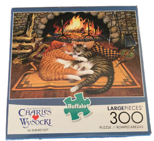 Buffalo Games - Charles Wysocki - All Burned Out - 300 Large Piece Jigsaw Puzzle