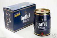 2 x 5,0L Gaffel Kölsch Partyfass Fass Bier Fass Partyfass 5 Liter Köln Orginal