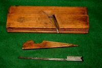 Antique Circa 1826 W. Greenslade, Bristol Side Bead Moulding Plane Inv#M02