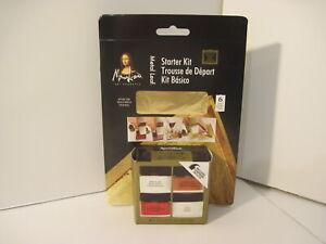 NIP Speedball Mona Lisa Art Products Metal Gold Leaf Starter Kit