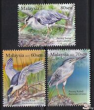 [SS] Malaysia 2015 Herons & Bitterns STAMP SET