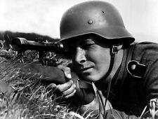 WW2 Photo WWII German Sniper Mauser Rifle K98k Wehrmacht  World War Two / 2511