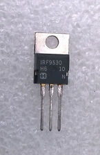 TRANSISTOR IRF9530 - 12A, 100V, 0.300 Ohm, P-Channel Power MOSFETs