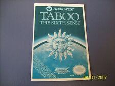 TABOO NES 8 Bit Nintendo Vidpro Card
