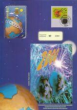 ENCART PHILATELIQUE ET TELECARTE CELEBRATION DE L'AN 2000