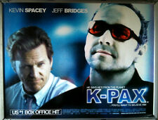 Cinema Poster: K-PAX 2002 (Quad) Kevin Spacey Jeff Bridges Mary McCormack
