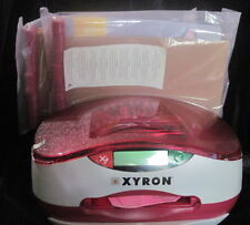 XYRON PERSONAL CUTTING SYSTEM & BOOK NEW WITHOUT BOX -AS IS NEEDS POWER CORD