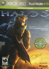 Halo 3 Platinum Hits Edition Xbox 360 - Case and Manual Included