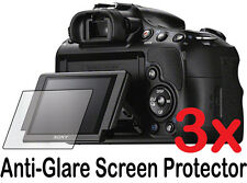 3x Anti-Glare Matte LCD Screen Protector Guard Cover for Sony Alpha A58 SLT-A58K