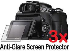 3x Anti-Glare Matt LCD Screen Protector Guard Cover für Sony Alpha A58 SLT-A58K