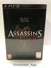ASSASSIN'S CREED 2 II BLACK EDITION - SONY PS3 - NUOVO SIGILLATO VERSIONE ITA