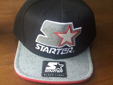 Starter Black and Grey Baseball Cap -  DRIZZLE - (BNWT) OSFM
