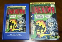 Adventures into the Unknown Vol 12 Collected Works Slipcase PS Artbooks New HC