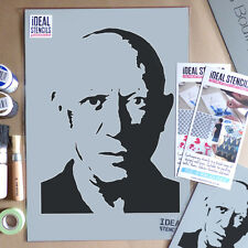 Picasso Portrait Stencil Painting Reusable Art Craft decorate Ideal Stencils