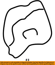 FORD OEM Steering Column-Lower Bearing Retainer F2DZ3C610A