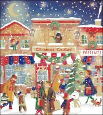 Pack of 5 Christmas Shopping Samaritans Charity Christmas Cards Cello Packs