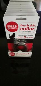 Pride & Groom Flea and Tick Spot On Collars for Kitten & Cat