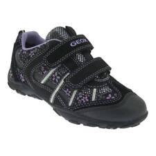 Scarpe neri sintetici marca Geox per bambine dai 2 ai 16 anni