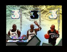 2004-05 TOPPS LUXURY BOX THREE-POINT PLAY GARNETT CASSELL SPREWELL 3X #418/450