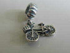 Authentic Genuine New Pandora Silver Bicycle Dangle Charm 791266