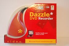 Pinnacle Dazzle Video Capture/Recorder to DVD VHS transfer Hi8 Video8 8mm -TubE